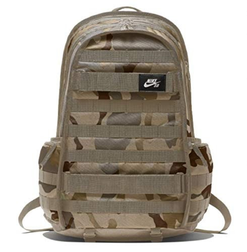 Mochila Nike Mens Sb Rpm Backpack- Aop Camo Ba6118-220 - Des