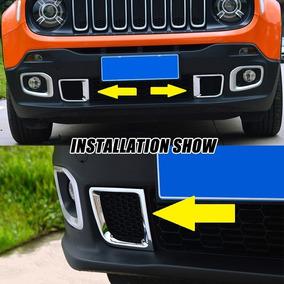 Moldura Foral Milha Do Jeep Renegade 2015 2016 2017 2018 Par