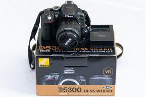 Câmera Nikon D5300 Fullhd 18-55mm Profissional 24.2