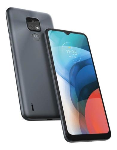 Imagem 1 de 5 de Celular Moto E7 64\4gbram Câm Dup Tela 6.5 Cinza Metálico