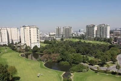 Id:79250, Precioso Departamento En Renta En Club De Golf Bosques, Con Vista Espectacular, Terminados De Lujo Y Estricta Seguridad. Ubicado En El Edificio Robles En El Piso 9.Cuenta Con Vestíbulo, Bi