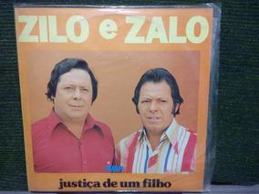 Lp Zilo & Zalo Justiça De Um Filho Código -01