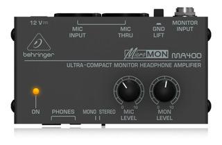 Miniamp Behringer Ma400 Amplificador De Auriculares Envio