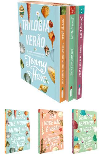 Box 3 Livros Trilogia Verão 3 Volumes Da Coleção Lacrado
