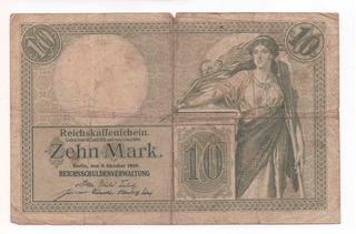 Billete Antiguo De Alemania 1906 Germany