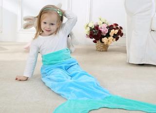 Cobertor Saco De Dormir Plush Infantil Sereia Leia Descricao