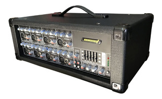Consola Potenciada Sunset Jcb808cl 6 Canales 200w
