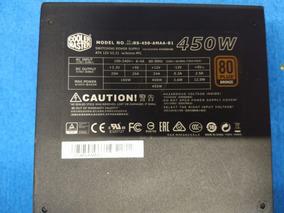 Fonte Cooler Master G450m 80 Plus Bronze Semi-modular 450w