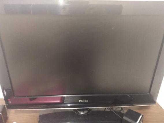 Tv Philco Para Conserto Ou Retirada De Peças (s/ Controle)