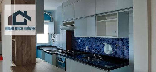Imagem 1 de 30 de Apartamento Com 3 Dormitórios À Venda, 71 M² Por R$ 530.000,00 - Gopoúva - Guarulhos/sp - Ap0972