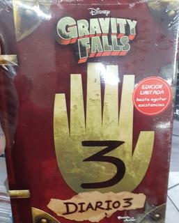 Gravity Falls 3 Diarios!!edicion Limitada! Incluye Lámpara