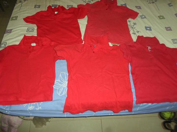 Camisas Rojas Escolar