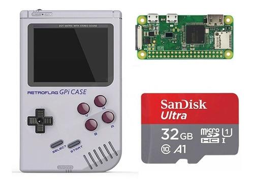 Archivo Imagen Descarga Retropie 32g P/ Raspberry Gpi Case