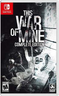This War Of Mine Complete Edition Fisico Nuevo Switch Dakmor