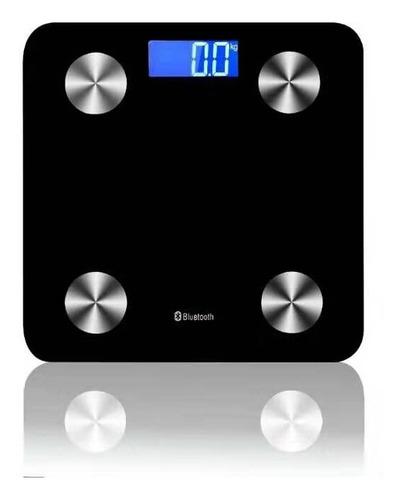 Imagen 1 de 2 de Balanza Inteligente Bluetooth - Mide Grasa, Imc Y + - Leaone