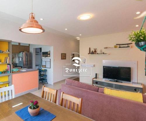Cobertura Com 2 Dormitórios À Venda, 138 M² Por R$ 430.000,00 - Vila Pires - Santo André/sp - Co11742