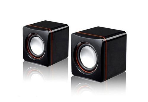 Elegate Bocina 2.0 Sonido Estéreo Usb Y 3.5mm Bc86