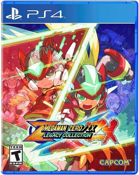 Mega Man Zero/zx Legacy Collection - Ps4 - Importado