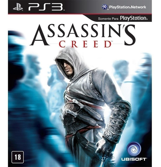 Jogo Assassins Creed 1 Ps3 Mídia Física