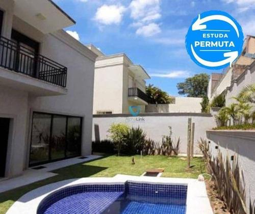 Casa Burle Marx - 397 M2 - 4 Suítes - 4 Vagas - Santana De Parnaíba - Sp - Ca0965