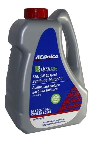 Aceite Acdelco 5w30 100% Sintetico Dexos 2 3.78 L