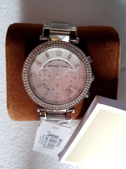Reloj Silver Para Dama -envio Gratis