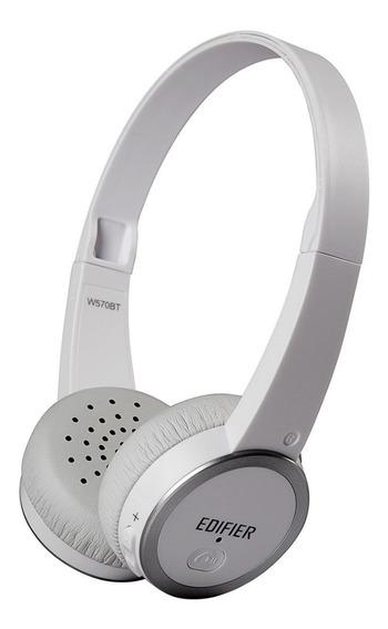 Auricular Edifier W570bt Bluetooth Blanco Manos Libres