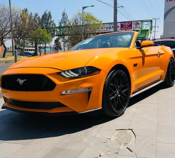 Mustang Covertible Año 2019, Solo 7 Mil Kilometros, Unico Du