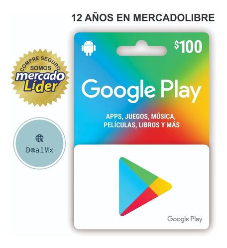 Imagen 1 de 1 de Saldo Google Play 100