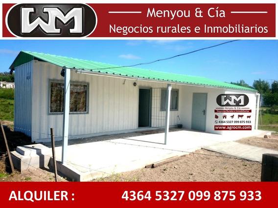 Alquiler Casa Trinidad Flores 3 Dormitorios + Patio Cochera