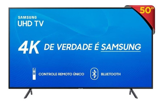 Tv Led 50 Samsung Smart 4k Un50ru7100 - Unica