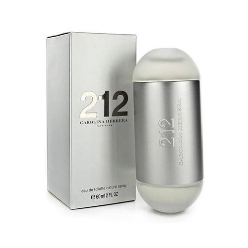 Carolina Herrera 212 Mujer 60ml Edt Silk Perfumes