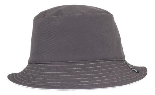 Imagen 1 de 3 de Bucket Hat Gris / Blanco