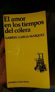 Libro Amor En Los Tiempos Del Cólera
