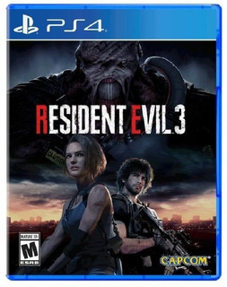 Resident Evil 3 Ps4 + Paquete Skins + Tema Especial