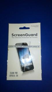 Lámina Protectora Transparente Para Sony Ericsson Xperia X8