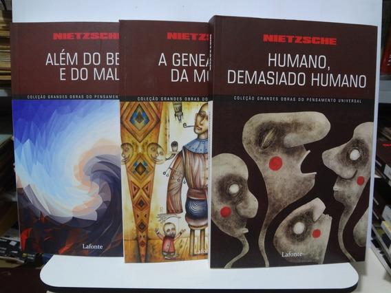 3 Livros Nietzsche A Genealogia Da Moral E Outros
