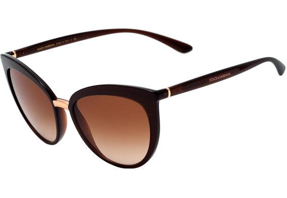 Dolce & Gabbana Dg 6113 - Óculos De Sol 3159/13 Marrom Trans