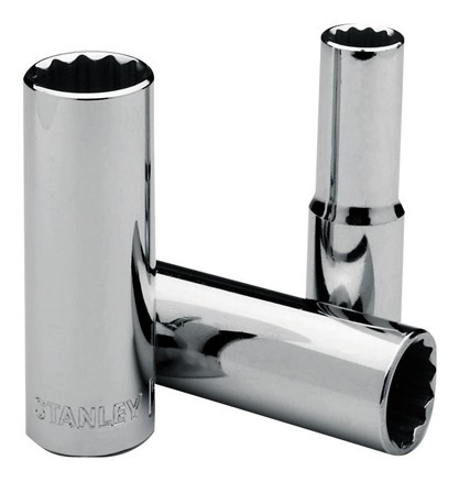 Copa Larga Poligonal Mando 1/2 22mm 86430 Stanley