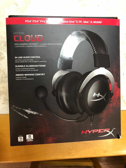Headset Hyper X (ps4/ps4pro/xbox One/pc/mac/& Mobile)