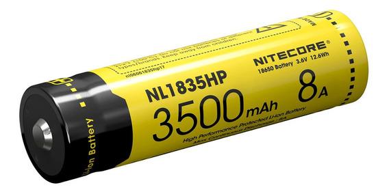 Bateria 18650 De Lítio Nitecore Nl1835hp