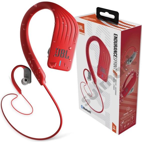 Jbl Sprint Original Fone De Ouvido Sem Fio Bluetooth Ipx7 Para Esporte Corrida Com Microfone Atender Chamada Nota Fiscal