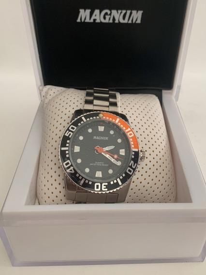 Relógio Magnum Wr100m/original/ Com Nfiscal