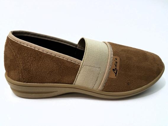 Zapatillas De Damas De Paño