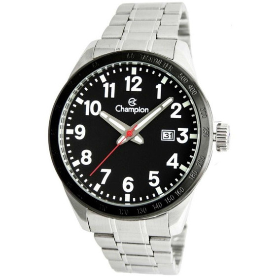 Relógio Masculino Champion Analógico Ca31695t - Prata