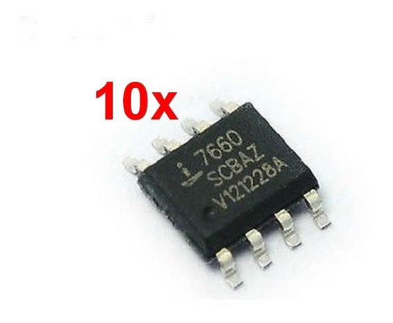 10pc Conversor Inversor De Tensão Icl7660s Icl7660 7660 Smd