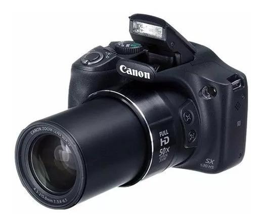 Camera,maquina, Fotográfica Semi Profissional Canon Sx530hs Envio P/ Fortaleza Somente Pela Cia Aérea