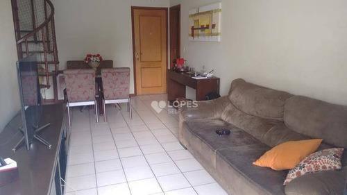 Imagem 1 de 27 de Cobertura Com 2 Dormitórios À Venda, 140 M² Por R$ 980.000,00 - Icaraí - Niterói/rj - Co1861
