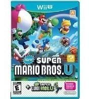 New Super Mario Bros+super Luigi Bros U Wiiu Nuevo Sellado