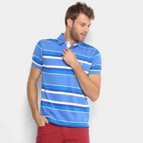 e3d7c493eb Camisa Polo Aleatory - Pólos Manga Curta Masculinas Azul no Mercado ...